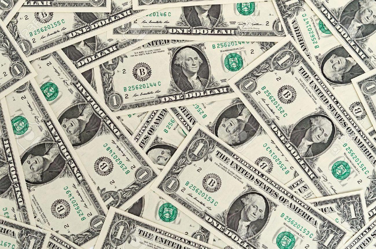 100 Dollar Bill On The Floor