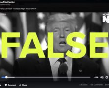 NowThis 'Fact Check' on NAFTA Mostly False